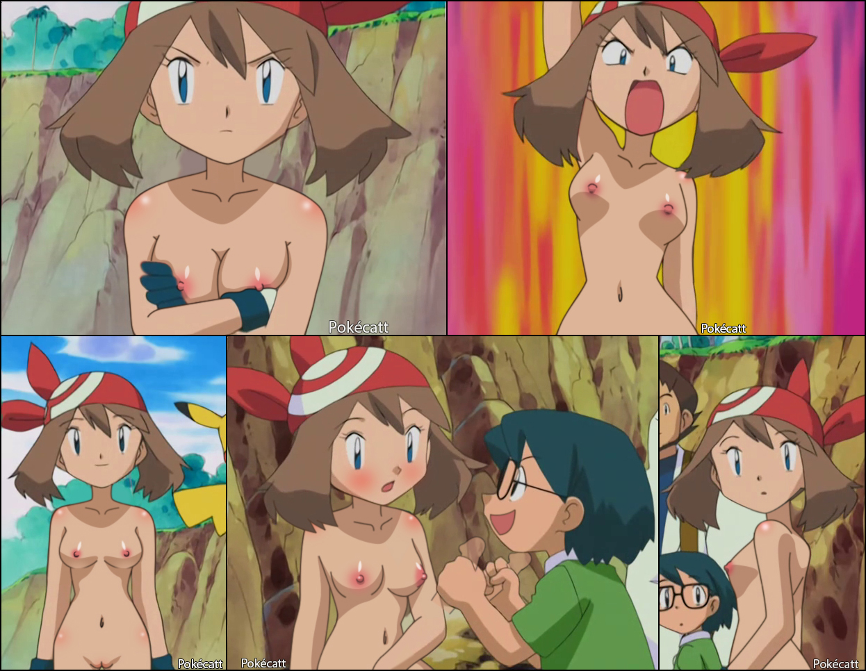 Excellent and nude women pokemon characters think